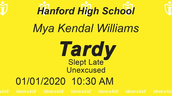 IVM tracks student tardies and early releases easy!