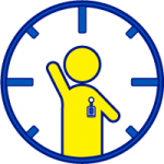 Track staff and volunteer hours with your school visitor management system.