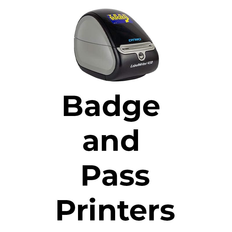 Top badge and pass printers that are perfect for your school visitor management system.