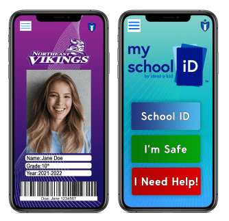 MySchool ID™ is affordable student IDs that come equipped with important safety and emergency management.